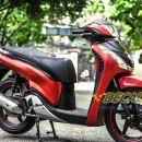 Tem xe Honda SH 150 Italia – Tem xe thiết kế Nhôm xước đỏ