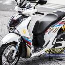 Tem xe Honda SH 150 Italia – Tem xe thiết kế BMW
