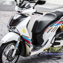 Tem xe Honda SH 150 Italia - Tem xe thiết kế BMW