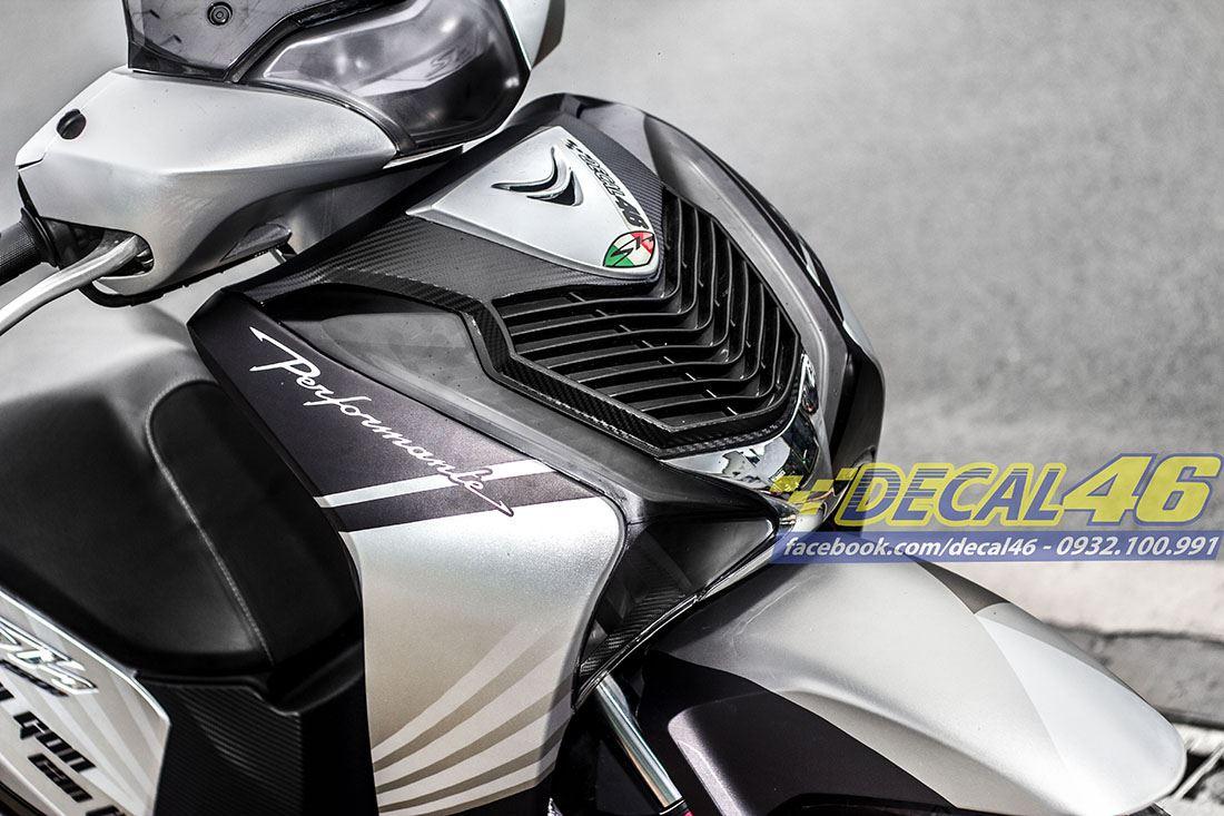 Tem xe Honda SH 150 Italia - Tem xe thiết kế Cần Thơ