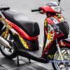 Tem xe Honda SH 150 Italia - Tem xe thiết kế Iron Man