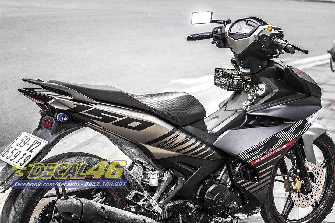 Tem xe Exciter 150 – 248 – Tem xe thiết kế MX King đặc biệt