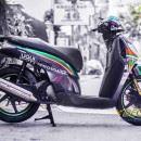 Tem xe Honda SH 150 Italia – Tem xe thiết kế Candy Custom
