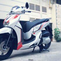 Tem xe Honda SH 150 Italia - Tem xe thiết kế Police