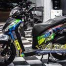 Tem xe Honda SH 150 Italia – Tem xe thiết kế Rossi