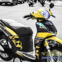 Tem xe Honda SH 150 Italia - Tem xe thiết kế Steven Thái