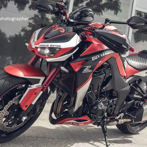 Tem xe PKL - Tem xe Z1000 thiết kế Bigbike