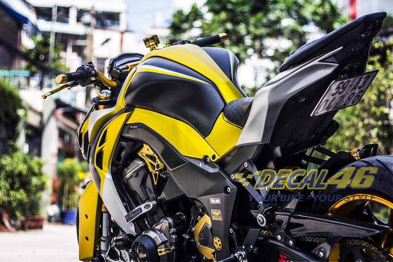 Tem xe PKL - Tem xe Z1000 thiết kế Superbiker
