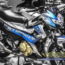 Tem xe Raider 150 - 018 - Tem xe thiết kế Petronas