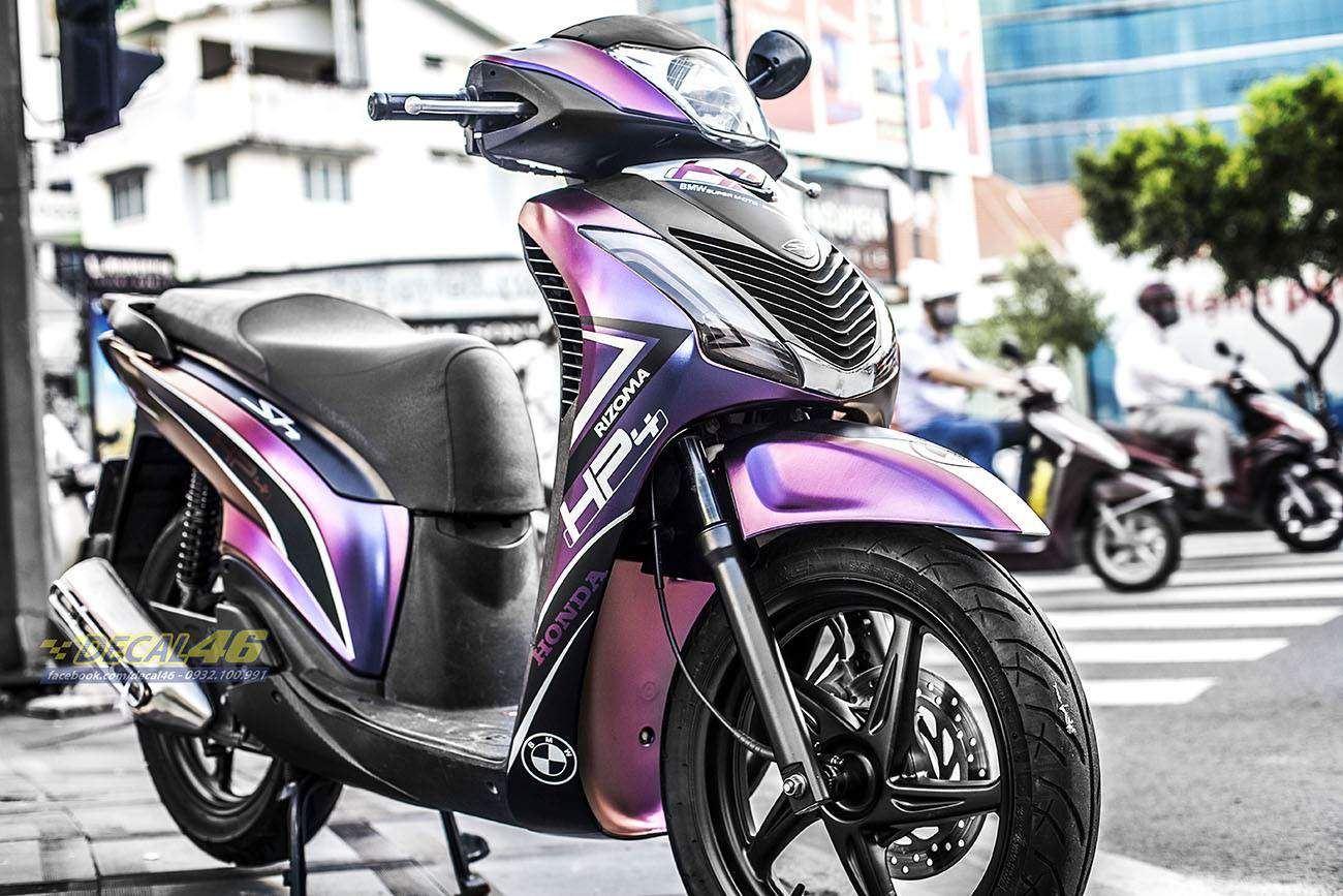 Tem xe Honda SH 150 Italia - Tem xe thiết kế HP43