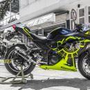 Tem xe PKL – Tem xe Ninja 300 thiết kế Rossi