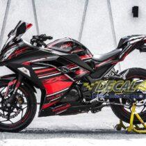 Tem xe PKL - Tem xe Ninja 300 thiết kế ZX3R