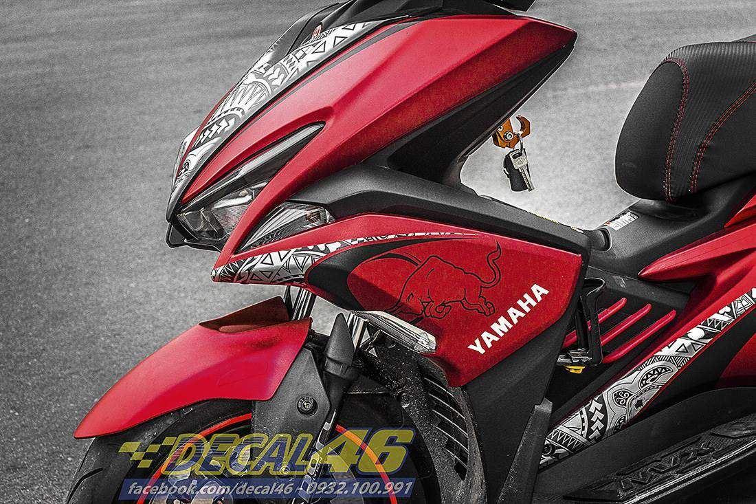 Tem xe NVX - 24 - Tem xe thiết kế Yamaha