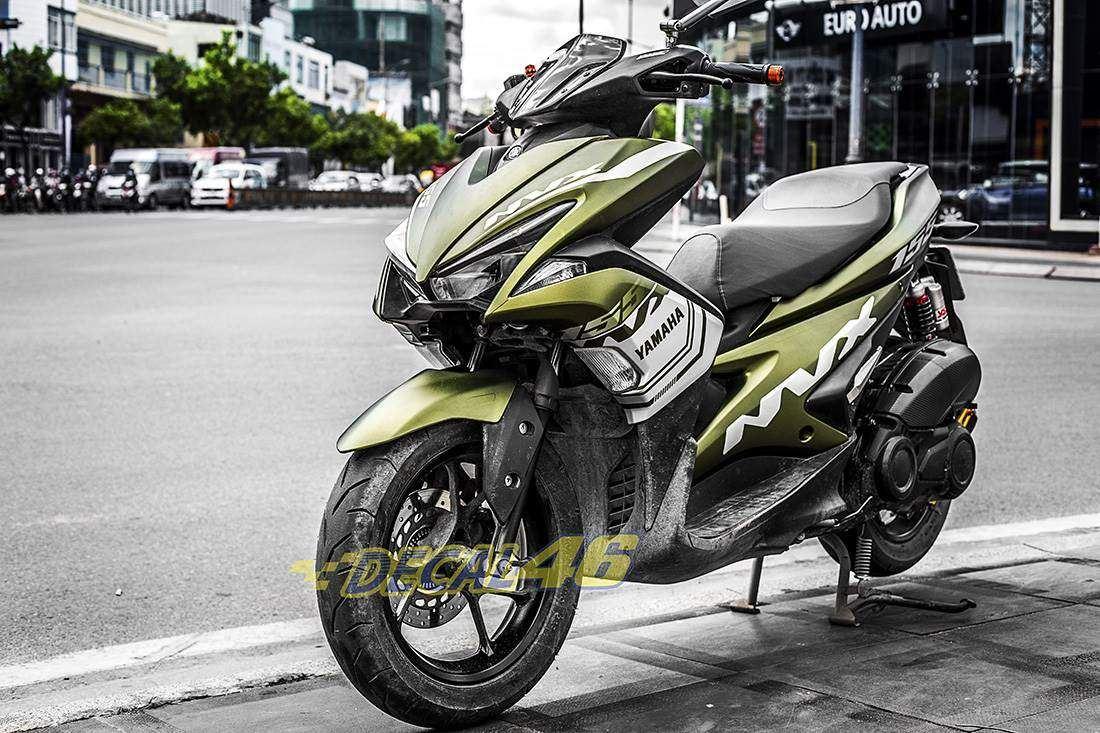 Tem xe NVX - 26 - Tem xe thiết kế Yamaha