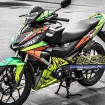 Tem xe Winner 150 - 166 - Tem xe thiết kế Motocross đặc biệt