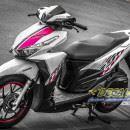 Tem xe Honda Click – 008 – Tem xe thiết kế Pink