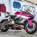 Tem xe PKL – Tem xe Ducati thiết kế Hồng xước