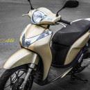 Tem xe Honda SH 150 Italia – Tem xe thiết kế Vàng đồng