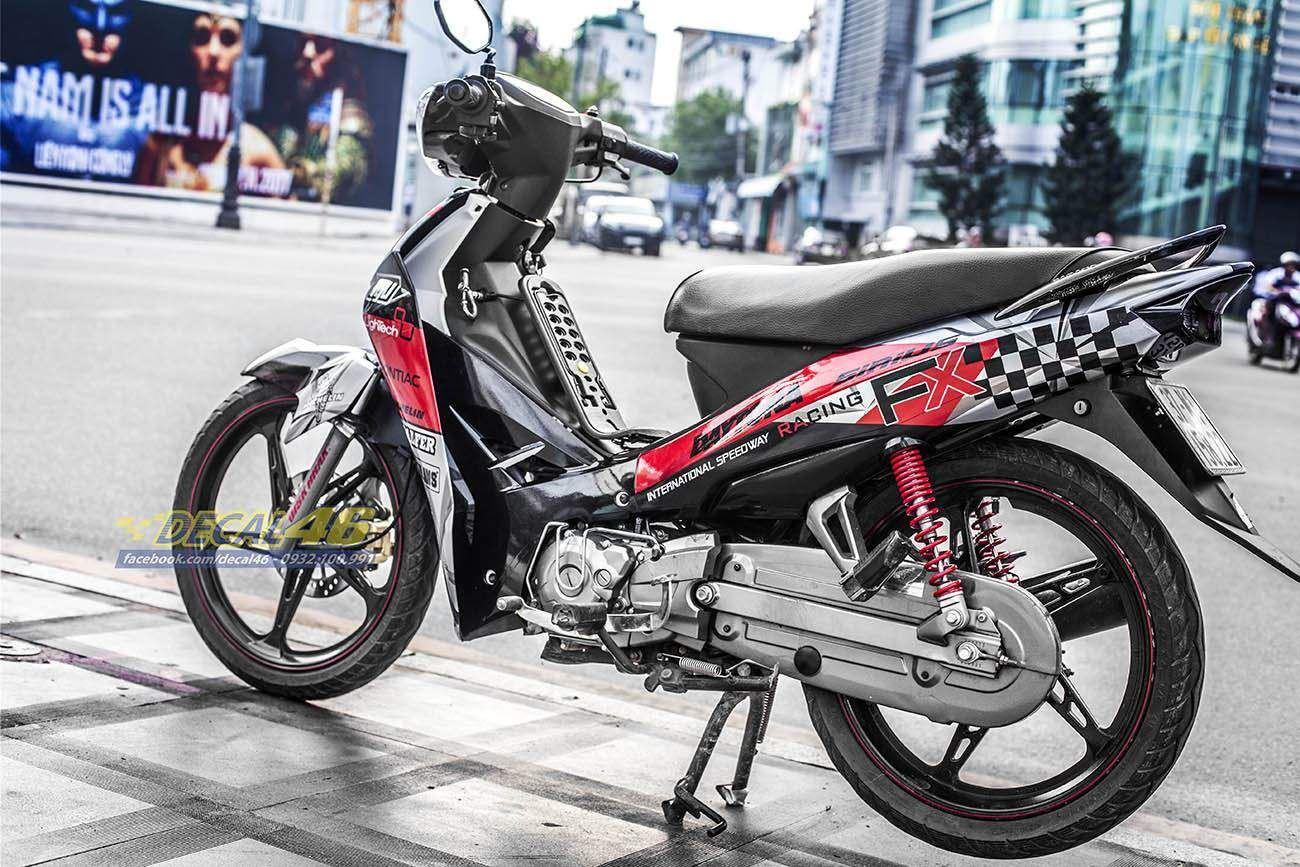 Tem xe Yamaha Sirius - 204 - Tem xe thiết kế AGV