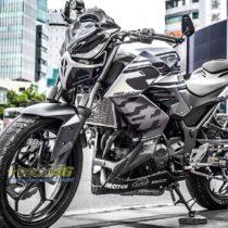 Tem xe PKL - Tem xe Z300 thiết kế Ducati
