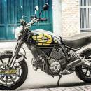 Tem xe PKL – Tem xe Ducati thiết kế đen vàng