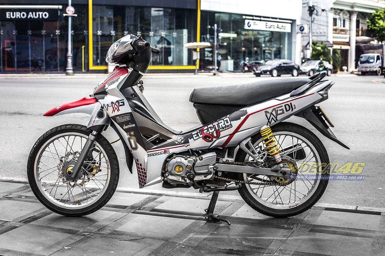 Tem xe Yamaha Sirius - 199 - Tem xe thiết kế EDM