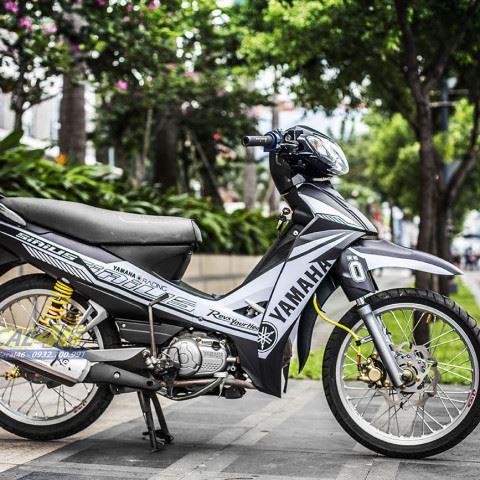 Tem xe Yamaha Sirius - 200 - Tem xe thiết kế Racing