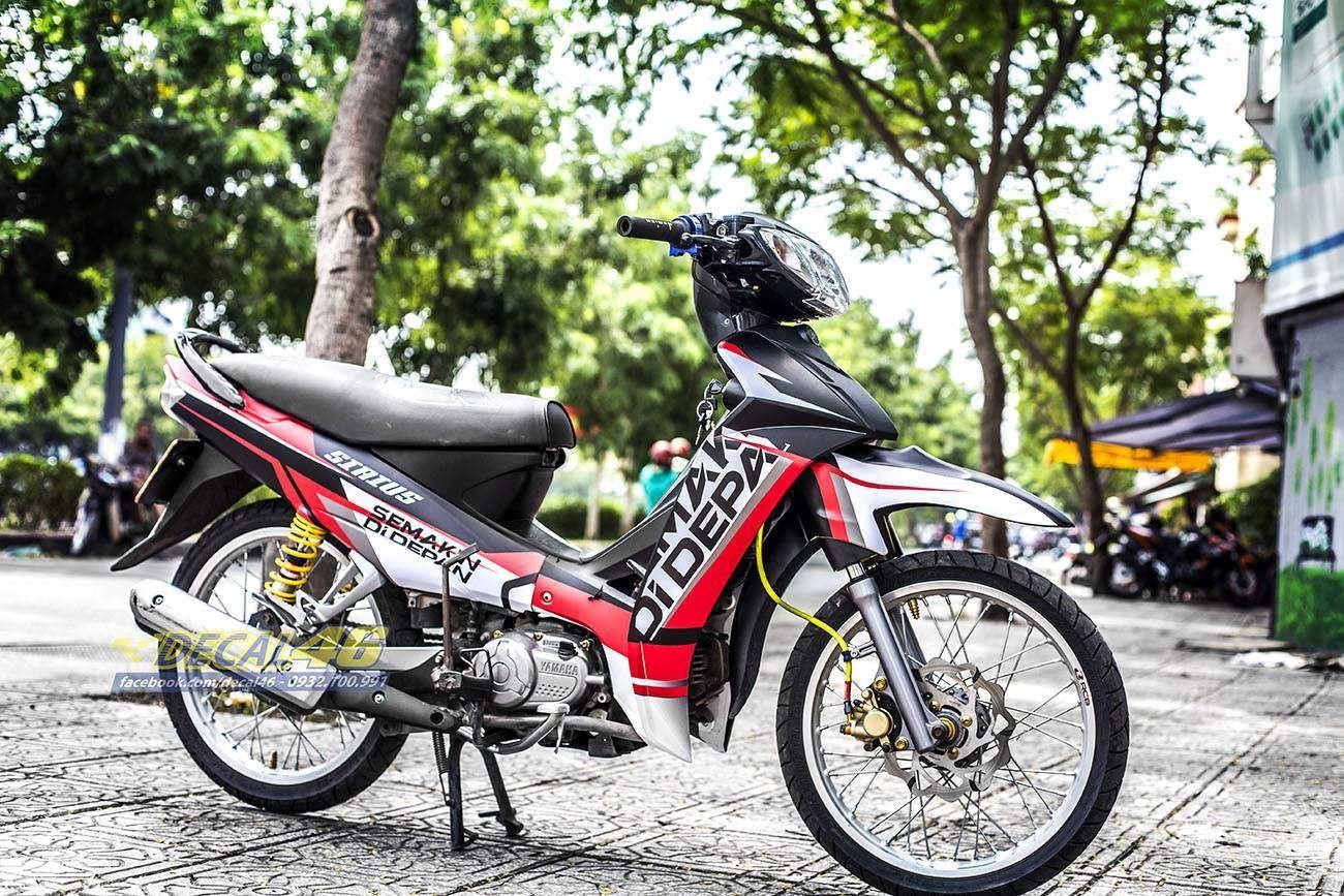 Tem xe Yamaha Sirius - 203 - Tem xe thiết kế Semakin