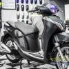 Tem xe Honda SH 150 Italia - Tem xe thiết kế đen xước