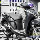 Tem xe Honda SH 150 Italia – Tem xe thiết kế đen xước