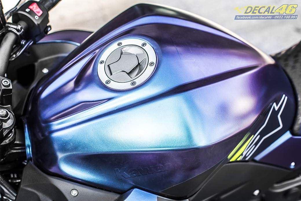Tem xe PKL - Tem xe Z300 thiết kế Titanium Monster