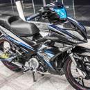 Tem xe Exciter 150 – 348 – Tem xe thiết kế chrome LC xanh đen