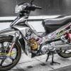Tem xe Yamaha Sirius - 209 - Tem xe thiết kế Speed Hunter candy