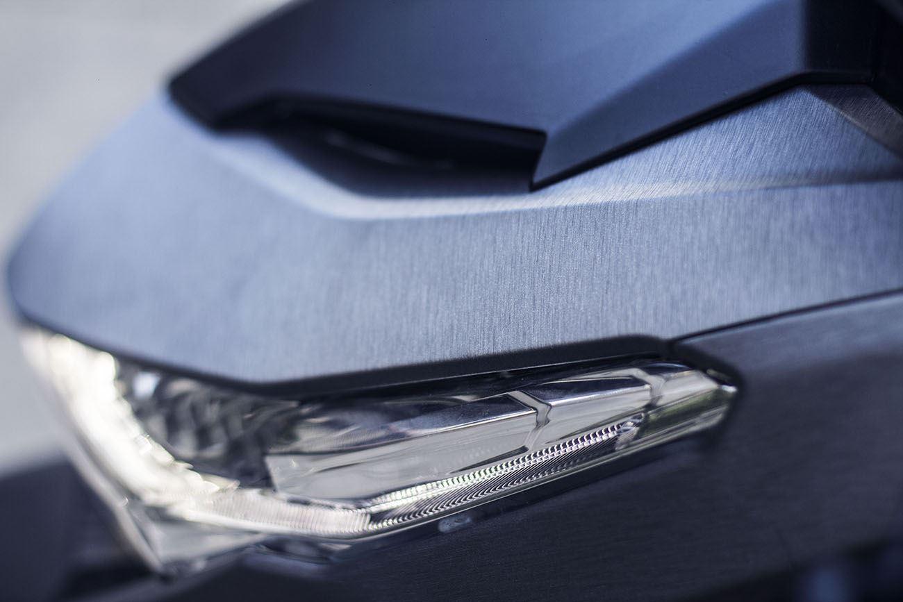Tem xe Honda Click - 016 - Tem xe thiết kế Xám xước