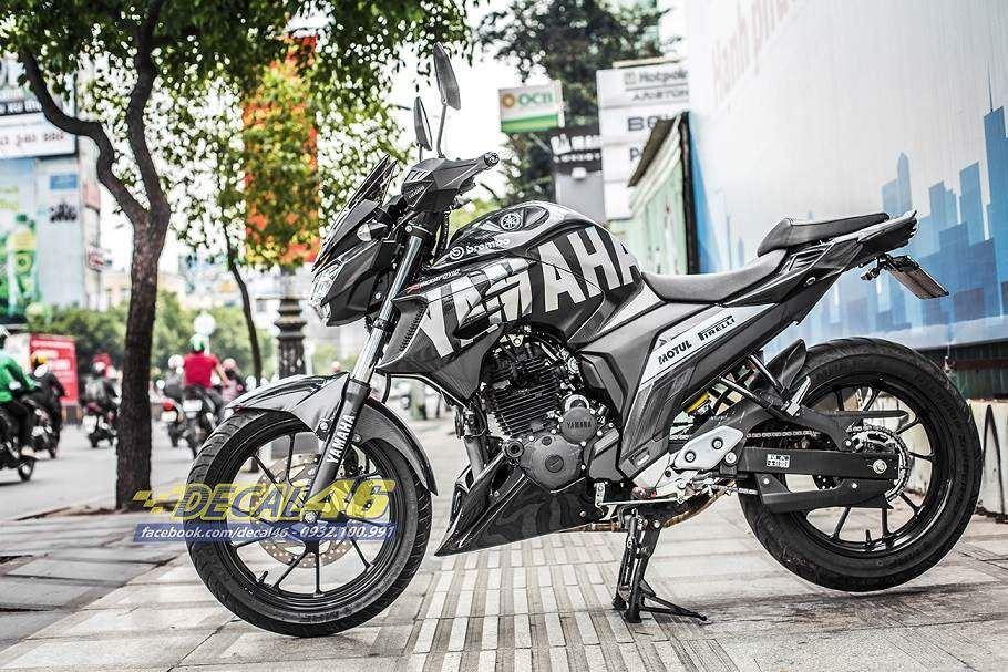Tem xe FZ25 - Tem xe thiết kế Carbon5D Yamaha