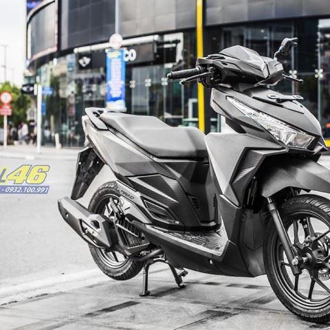 Tem xe Honda Click - 020 - Tem xe thiết kế đen xước
