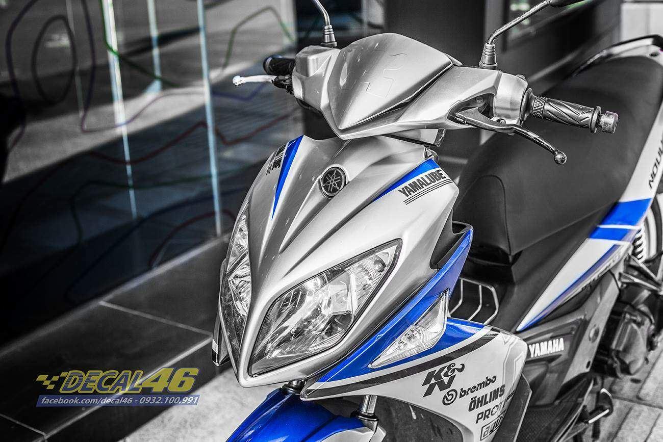 Tem xe Yamaha Nouvo - Tem xe thiết kế Yamaha candy
