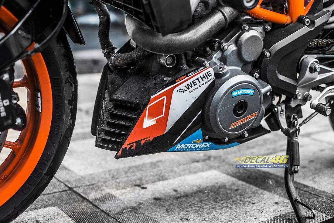 Tem xe KTM - DUKE - 24 - Tem xe thiết kế DUKE Racing