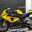 Tem xe PKL – Tem xe BMW S1000RR thiết kế Glossy vàng