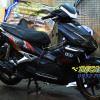 Tem xe Honda Airblade 2007 - 026 - Tem xe thiết kế Falken nhôm đen