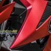 Tem xe Raider 150 - Tem xe thiết kế kiểu độ xước