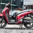Tem xe Honda SH 150 – Tem xe thiết kế đỏ nhôm