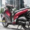 Tem xe Honda SH 150 - Tem xe thiết kế đỏ nhôm