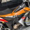 Tem xe Sonic - 003 - Tem xe thiết kế Repsol trắng cam