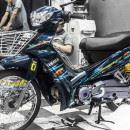 Tem xe Yamaha Sirius – 236 – Tem xe Yamaha Sirius thiết kế zin R Chrome