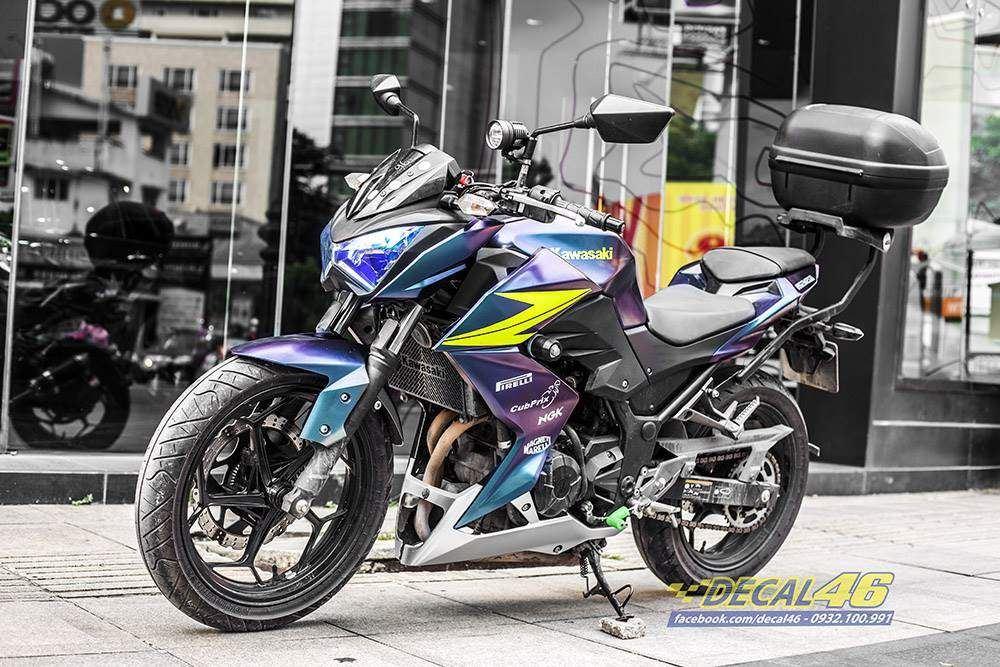 Tem xe PKL - Tem xe Z300 thiết kế Mino titan