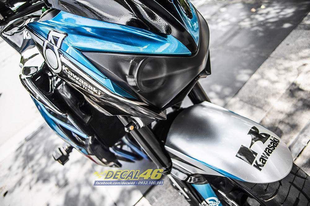Tem xe PKL - Tem xe Z800 thiết kế Petronas