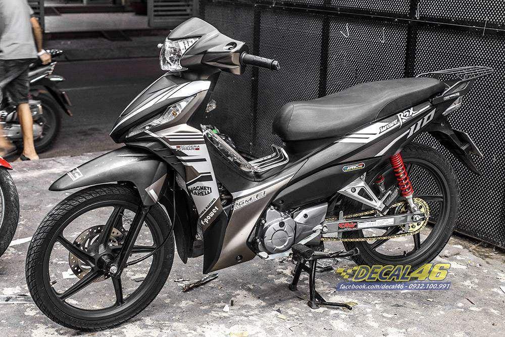 Tem xe Honda Wave - 018 - Tem xe thiết kế Ferreli