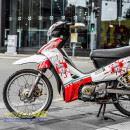 Tem xe Yamaha Sirius – 250 – Tem xe thiết kế Liverpool