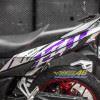 Tem xe Winner 150 - 398 - Tem xe Winner thiết kế Ducati candy tím